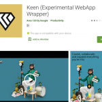 Google Keen Play store