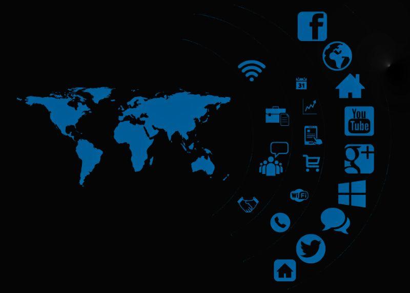 Social media apps revolutionize the world