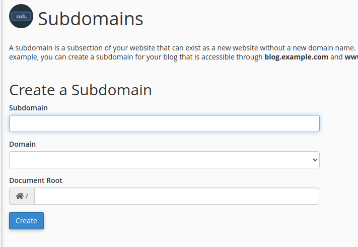 subdomains for seo submit