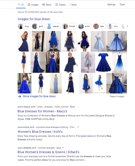 Search Result for Blue Dress