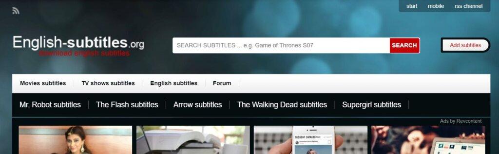 English Subtitles_Download Subtitles for Movies
