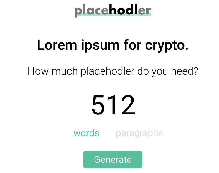 placeholder_Free Lorem Ipsum Generators